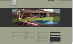 site da designer de itneriores layde tuono criado em 2016 pela Cadigital
