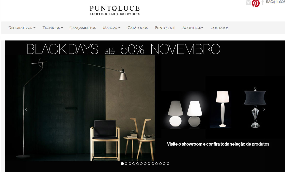 arte Cadigital index site promo black days puntoluce